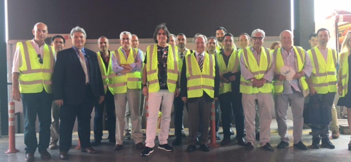 Επίσκεψη Πειραιωτών επιχειρηματιών στις εγκαταστάσεις της ΣΕΠ Α.Ε.