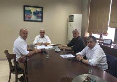 Συνάντηση στην Αντιπεριφέρεια Πειραιά για την «Ιπποδάμεια Αγορά»